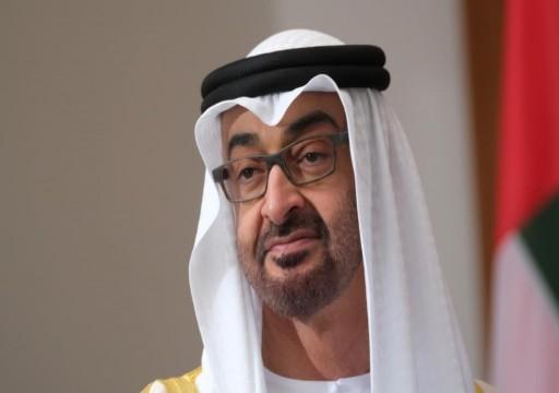 محمد بن زايد يؤكد تضامن الإمارات مع الصين في مواجهة «كورونا»
