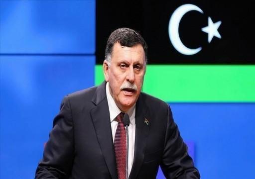 حكومة الوفاق الليبية تدعو إلى نشر قوة عسكرية دولية في البلاد