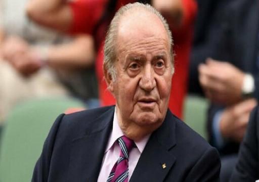 ملك إسبانيا السابق المتورط في قضايا فساد يتوجه إلى أبوظبي