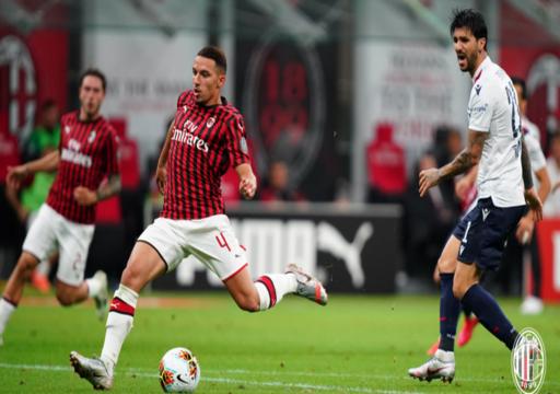 ميلان يمطر شباك بولونيا بخماسية في منافسات الدوري الإيطالي