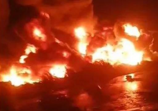 إخماد حريق بمحطة للطاقة الشمسية في أبوظبي دون إصابات