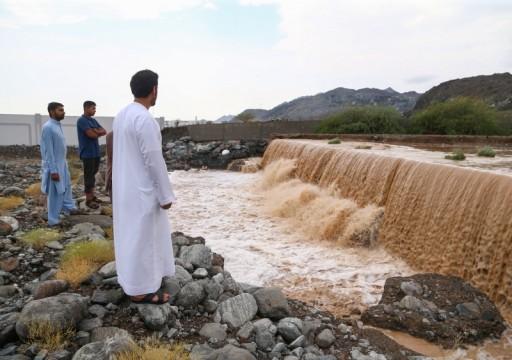 6.7 ملايين متر مكعب من مياه الأمطار خزنتها السدود في الدولة