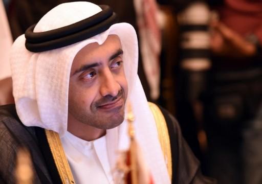 """تغريدة لـ""""عبدالله بن زايد"""" تغضب السعوديين.. فماذا قال؟"""