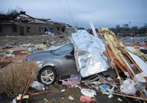 ارتفاع ضحايا إعصار ولاية تينيسي الأمريكية لـ25 وفاة