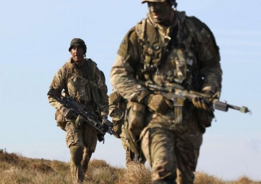 إقامة قاعدة عسكرية بريطانية في الكويت ومسؤول ينفي علاقتها بخلاف مع السعودية