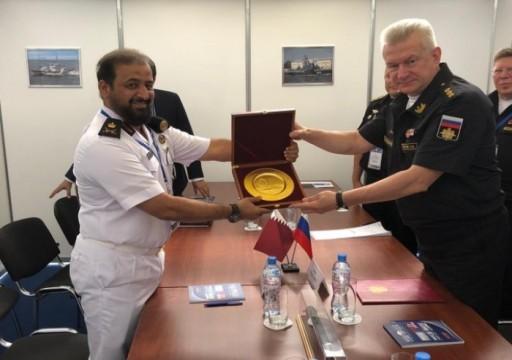 مباحثات قطرية روسية لتعزيز التعاون العسكري البحري