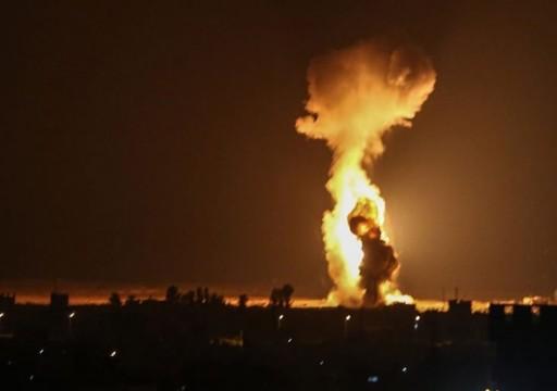 إنذارات ساخنة بانفجار غزة.. إسرائيل تقصف جوا وحماس تحذر