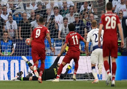 محمد صلاح يسجل ثاني أسرع هدف في نهائي أبطال أوروبا