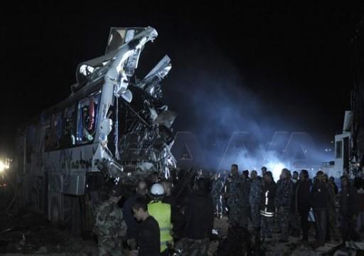 وفاة 32 شخصاً بينهم عراقيون بحادث سير في سوريا
