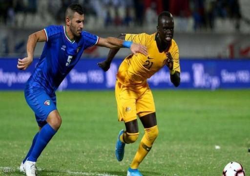 الكويت وفلسطين تخسران أولى مبارياتهما في تصفيات مونديال 2022