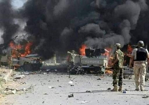 الدفاع اليمنية: القصف الإماراتي على جنودنا في عدن وأبين استهداف متعمد وسافر