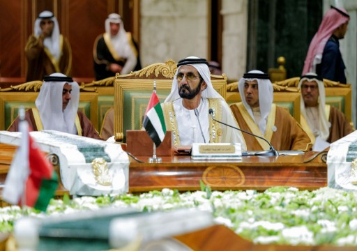 محمد بن راشد خلال قمة الرياض: الأخوة الخليجية ستبقى