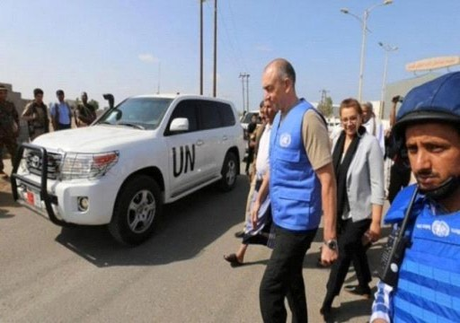 """الحكومة اليمنية تطالب بنقل بعثة الحديدة الأممية لمنطقة """"محايدة"""""""