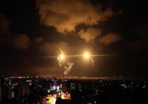 الاحتلال الإسرائيلي يقصف مواقع المقاومة في غزة