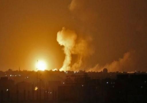 الاحتلال الإسرائيلي يعلن قصفه مجددًا لأهداف تابعة للمقاومة بغزة