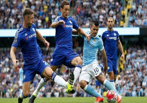 مانشستر سيتي يواجه تشيلسي في قمة الدوري الإنجليزي