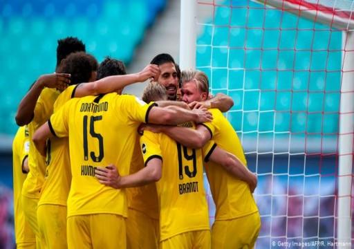 الدوري الألماني: دورتموند يحسم المركز الثاني وليفاند يحقق رقماً قياسياً
