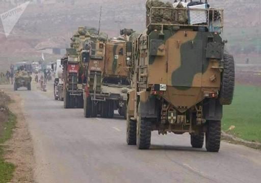 تركيا ترسل تعزيزات عسكرية إلى نقاط المراقبة في إدلب السورية