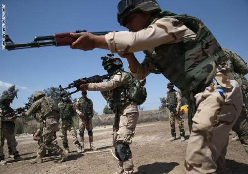 التحالف بقيادة أمريكا يوقف مهام التدريب والدعم للجيش العراقي