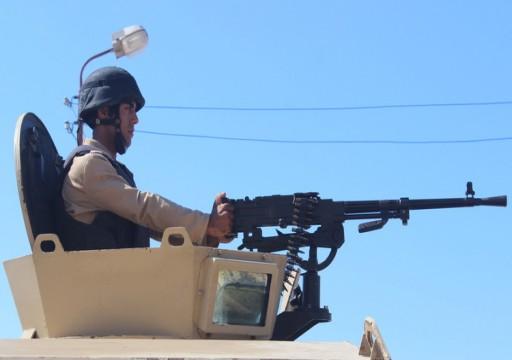 مصر.. الجيش يعلن مقتل وإصابة 5 عسكريين و19 مسلحا في سيناء
