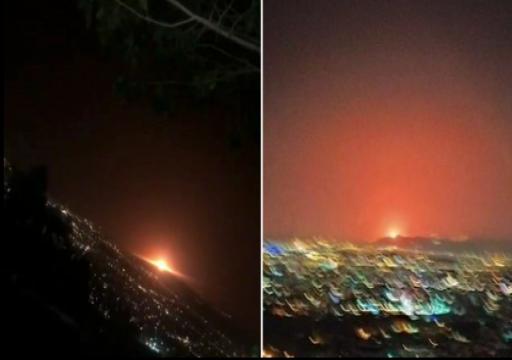 انفجار يضرب محطة غاز إيرانية بالقرب من مقر سري لإنتاج النووي