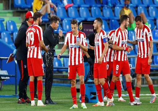 فيروس كورونا يضرب أتلتيكو مدريد قبل مباراة لايبزيغ بدوري أبطال أوروبا