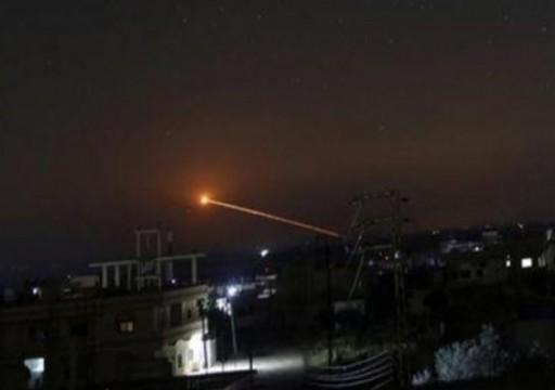 مقتل ثلاثة مدنيين جراء الغارات الإسرائيلية صباحاً قرب دمشق