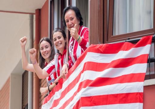 """نهائي كأس ملك إسبانيا ينتقل إلى """"شرفات"""" المنازل"""