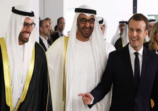 مجلة فرنسية: باريس تشترك مع أبوظبي في مشروع الاستقرار الاستبدادي والثورات المضادة