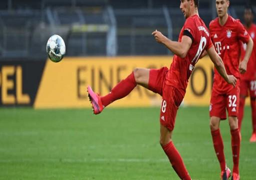 الدوري الألماني.. بايرن يهزم دورتموند ويقترب من اللقب