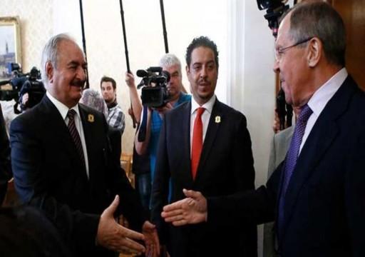 وسائل إعلام ليبية: حفتر يغادر موسكو دون توقيع اتفاق وقف إطلاق النار