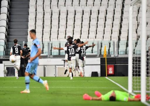 كريستيانو رونالدو يقود يوفنتوس لتخطي لاتسيو والابتعاد بصدارة ترتيب الدوري الإيطالي