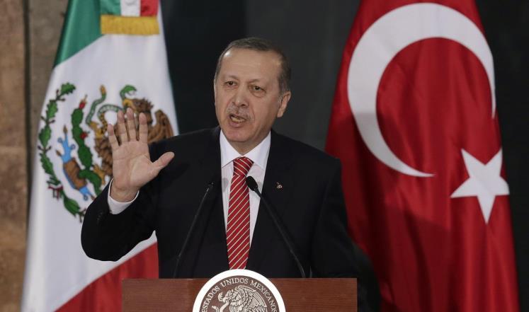 أردوغان يدين صمت الإدارة الأمريكية إزاء جريمة كارولينا الشمالية