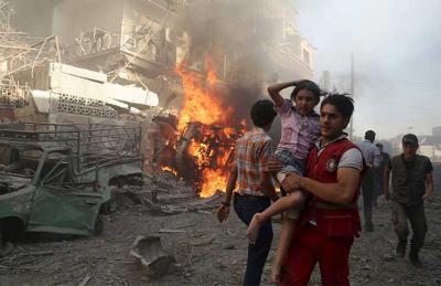 صواريخ مصرية يستخدمها نظام الأسد في قصف الزبداني