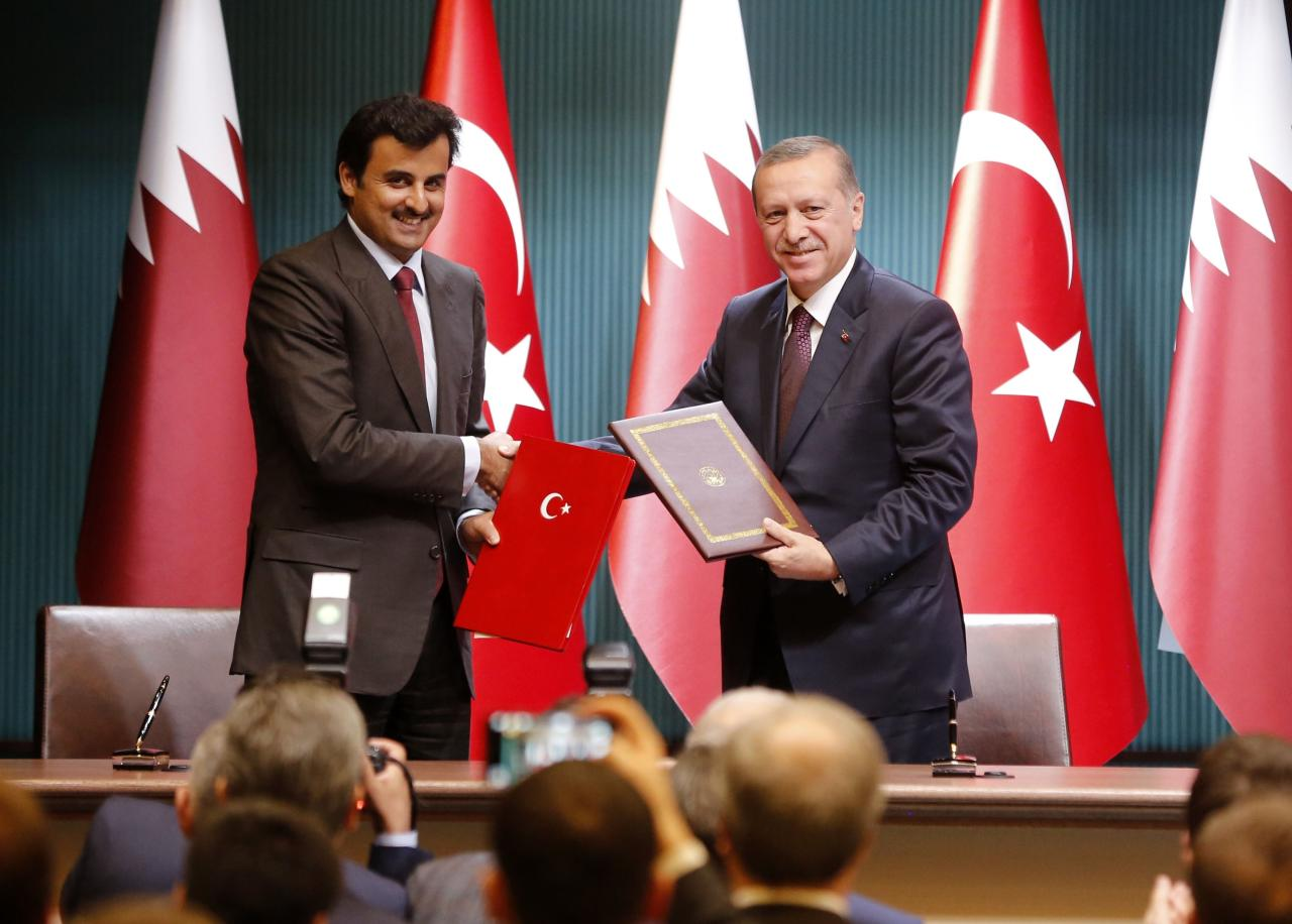 مرسوم أميري قطري يصادق على إنشاء لجنة استراتيجية مع تركيا