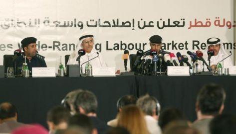 قطر تلغي نظام الكفالة بشكل رسمي