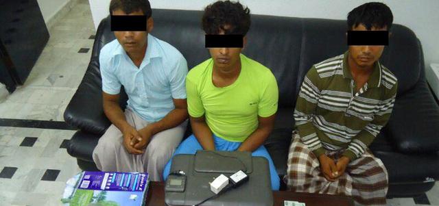 عصابة متخصصة في تزييف عملة الدولة في قبضة الشرطة