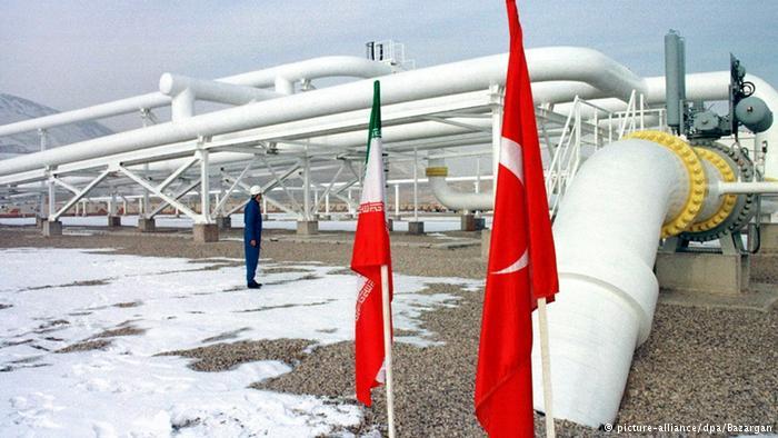 إصلاح خط أنابيب الغاز الواصل بين تركيا و إيران و استئناف العمل فيه