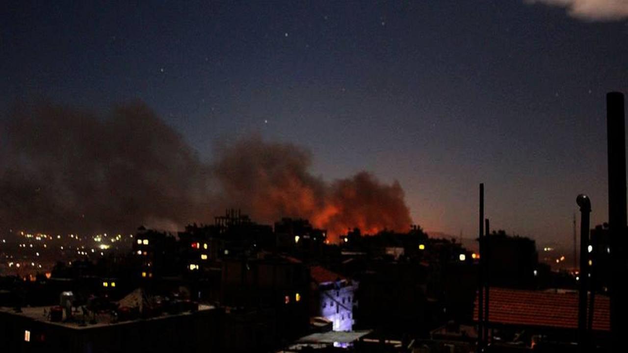 غارة إسرائيلية تستهدف مخزن أسلحة قرب مطار دمشق الدولي