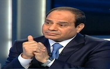 السيسي:  المبادرة المصرية فرصة حقيقية لوقف نزيف الدماء بغزة