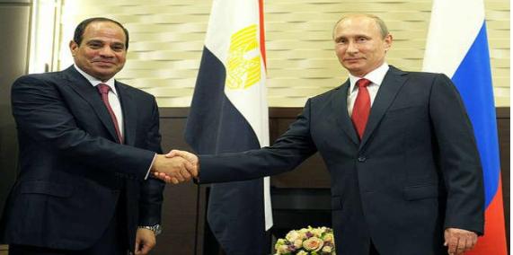 """نيويورك بوست: بوتين يستغل """"صفعات"""" أوباما للسيسي"""