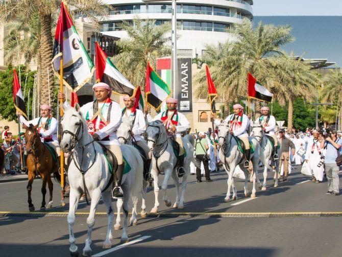 دبي تستقبل عيد الفطر باحتفاليات عالمية