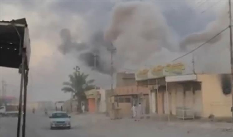 """""""داعش"""" يقطع طريقاً دولياً في العراق"""