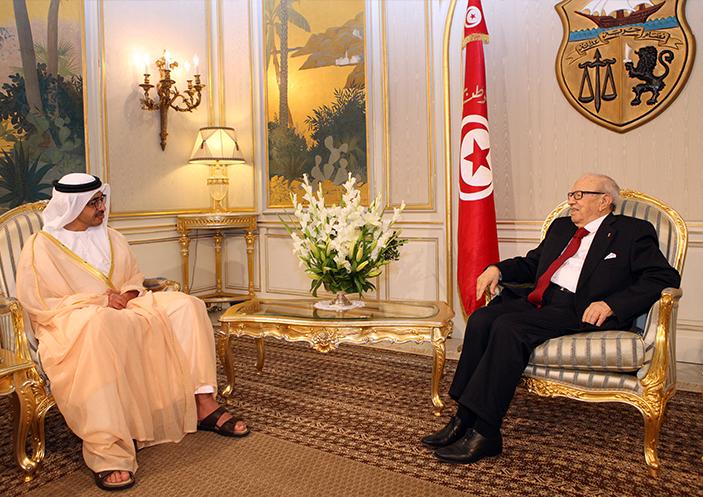 الإمارات تؤكد دعمها لتونس سياسيا واقتصاديا