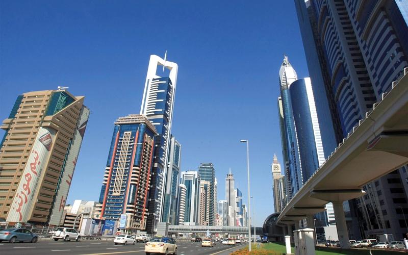 """""""مؤشر أراضي دبي"""": تراجع في متوسط إيجارات 17 منطقـة سكنـيـة ببر دبي"""