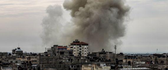 الجيش المصري يقصف سيناء بالقنابل العنقودية