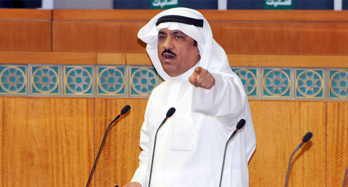 """البراك أمين عام لـ""""حشد"""" رغم اعتقاله.. رسالة قوية لحكومة الكويت"""