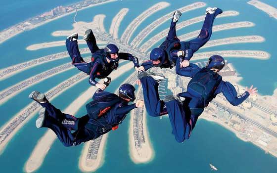 إنشاء نادي أبوظبي للرياضات الجوية