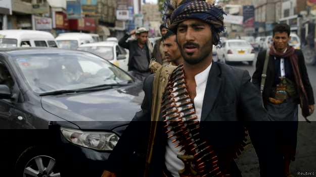 """الحوثيون يسيطرون على محافظة """"حجة"""" الحدودية مع السعودية"""