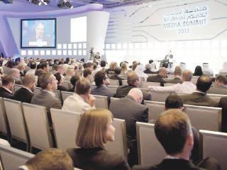 """"""" قمة أبوظبي للإعلام"""" تناقش مستقبل الإعلام في العالم"""